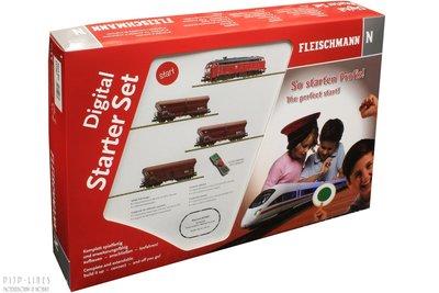 Fleischmann 931887 Digitale startset diesellok BR 218 met goederentrein