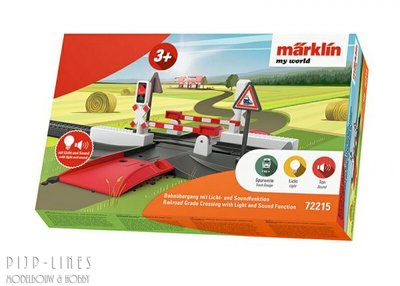Marklin 72215 Märklín my world Spoorwegovergang met licht en geluidseffecten