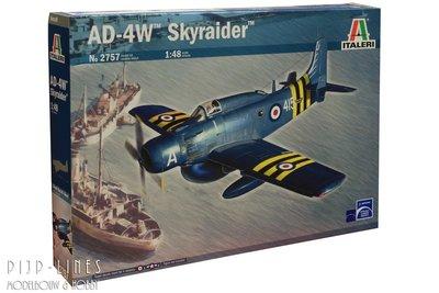 Italeri 2757 AD-4W Skyraider 1:48