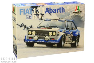 "Italeri 3662 Fiat 131 Abarth ""Rally"" 1:24"
