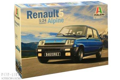 Italeri 3651 Renault 5 Alpine 1:24