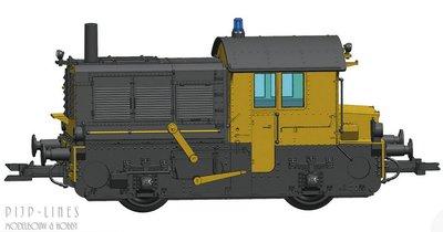 Roco 72012 NS rangeerlocomotief Sik serie 200/300 DCC