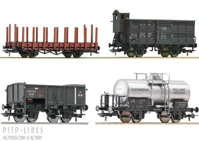 Roco 76077 NL - NCS SS NBDS HSM goederenwagen set