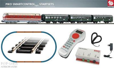 "Piko 59008 Digitale startset ""PIKO Smartcontrol light"" DR personentrein met BR 119"
