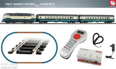 "Piko 59007 Digitale startset ""PIKO Smartcontrol light"" DB personentrein met BR 118"