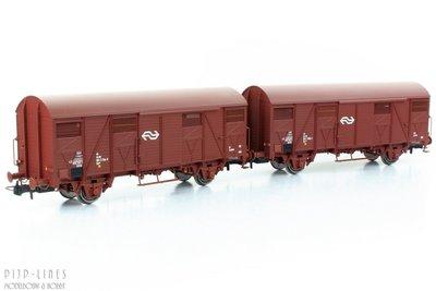Rivarossi HR6430 NS set van twee gesloten wagensRivarossi HR6430 NS set van twee gesloten wagens