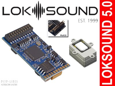 ESU 58412 LokSound 5 PluX22