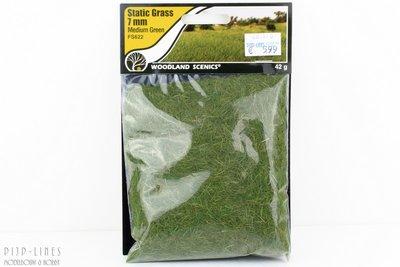 "Woodland FS622 Static Grass ""Medium Green"" 7mm"