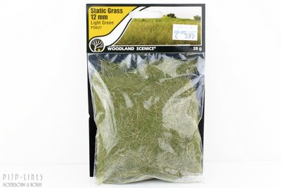 "Woodland FS627 Static Grass ""Light Green"" 12mm"