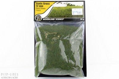 "Woodland FS625 Static Grass ""Dark Green"" 12mm"