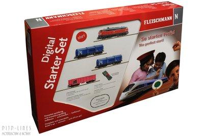 Fleischmann 931890 Digitale startset diesellok BR 218 met goederentrein