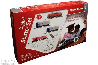 Fleischmann 931889 Digitale startset diesellok BR 218 met goederentrein