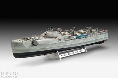 Revell 05162 German Fast Attack Craft S-100