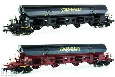 Roco 76135 NL Grawaco set onderlossers Type Tadgs