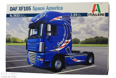 Italeri 3933 DAF XF 105 Space America 1:24