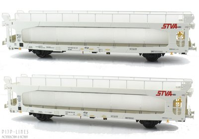 LSModels 94011 NS STVA autotransportwagen set