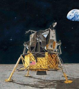 Revell 03701 Apollo 11 Lunar Module Eagle 1:48