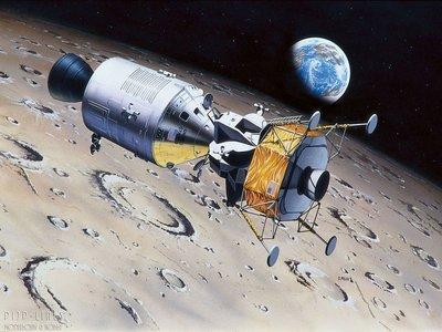 Revell 03700 Apollo 11 Columbia en Eagle 1:96