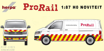 Herpa VW Transporter T6 ProRail Incidentenbestrijding 1:87 H0