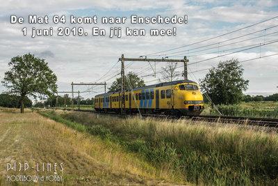 "PIJP-LINES Jubileum rit ""Mat 64"" Enschede - Amersfoort"