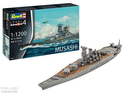 Revell 06822 Musashi 1:1200