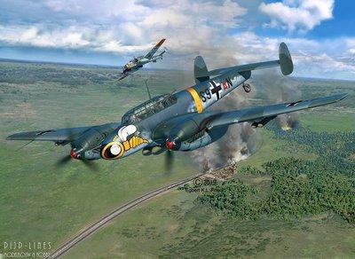 Revell 04961 Messerschmitt Bf110 C-7 1:32