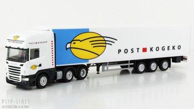 Herpa Trucks Scania R400 Post Kogeko