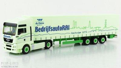 Herpa Trucks MAN BedrijfsautoRAI 2012