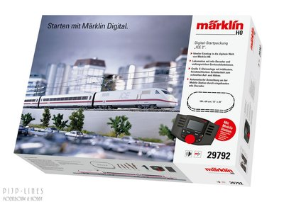 Marklin 29792 Digitale startset Mobile station DB-AG ICE 2
