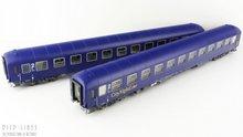 L.S.Models 49010 City Night Line rijtuigen set Type Bvcmz