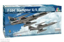 Italeri 2514 F-104 STARFIGHTER G / S - Verbeterde editie RF-versie