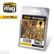 MIG 8402 Eiken - Droge bladeren