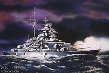 Revell 05802 Battleship Bismarck 1:1200
