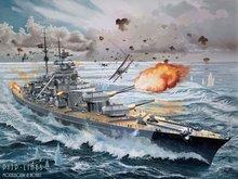 Revell 05040 Battleship Bismarck 1:350