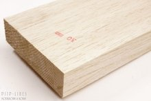 Balsa hout plank 30mm