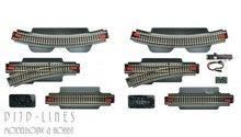 Roco 51250 geoLine rails uitbreidingsset voor digitaal