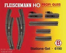 Fleischmann 6190 Stationsset B Profi 1:87 H0