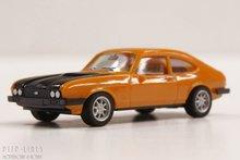 Herpa-28509 Ford Capri RS oranje/zwart