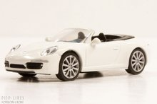 Schuco-4526400-Porsche-911-991-Carrera-S-Carbriolet-Wit-1:87