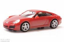 Herpa 28646 Porsche 911 Carrera 4, rood