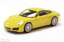 Herpa 28639 Porsche 911 Carrera 4S geel