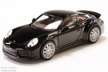 Herpa 28615 Porsche 911 Turbo zwart
