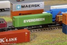 Faller-272843-40'-Hi-Cube-Container-EVERGREEN-1:160
