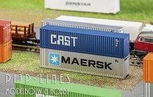 Faller-272841-40'-Hi-Cube-Container-Cast-1:160