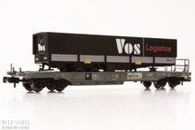 Fleischmann 845362 NS Trailstar dieplader met Vos Logistics oplegger