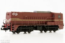 Piko 40418 NS diesel lok 2218 bruin met A-sein N 1:160 NS 2200