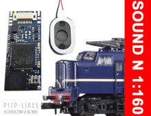 Piko 46280 Loksound micro V4.0 NS 1200 spoor N