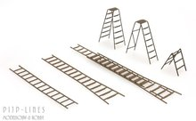 Artitec 387.283 Ladder set 1:87 H0