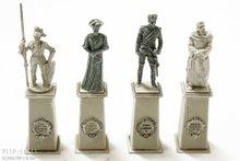 Preiser 10525 4 standbeelden 1:87 H0