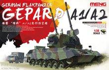 Meng-German-Flakpanzer-Gepard-A1/A2-1:35